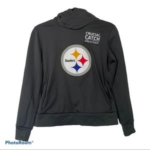 Nike DriFit NFL Steelers Crucial Catch Hoodie SM